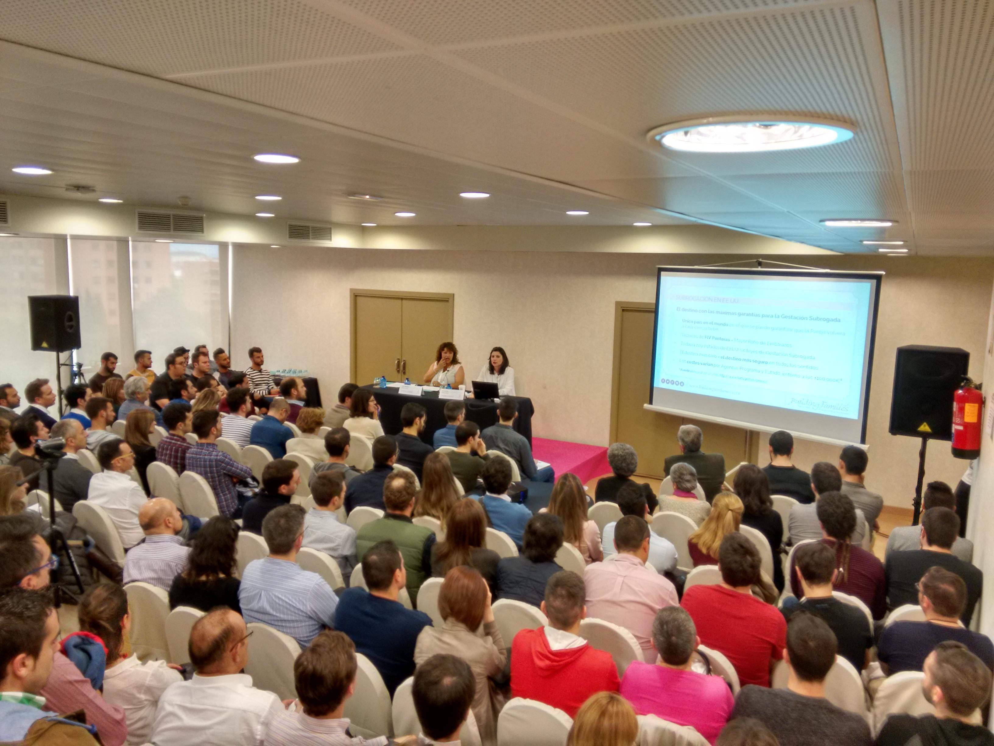 Madrid Mayo 2016, Ponencia de Building Families en Madrid ante más de 250 personas