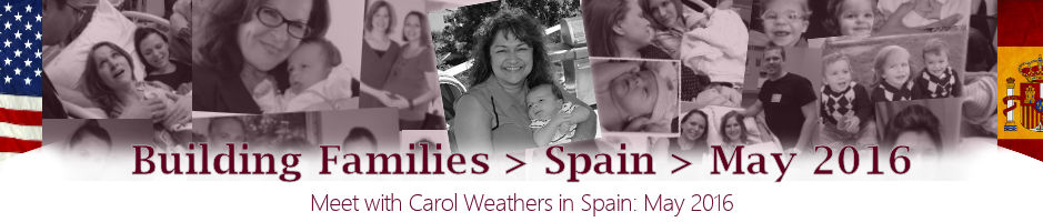 Meet with Carol Weather in Spain - May 2016