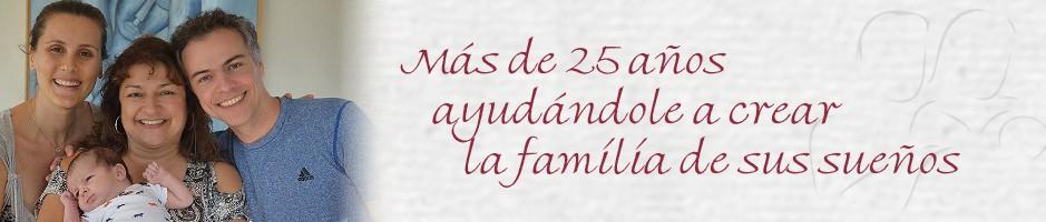 Más de 25 años ayudándole a crear la familia de sus sueños a través de la Gestación Subrogada